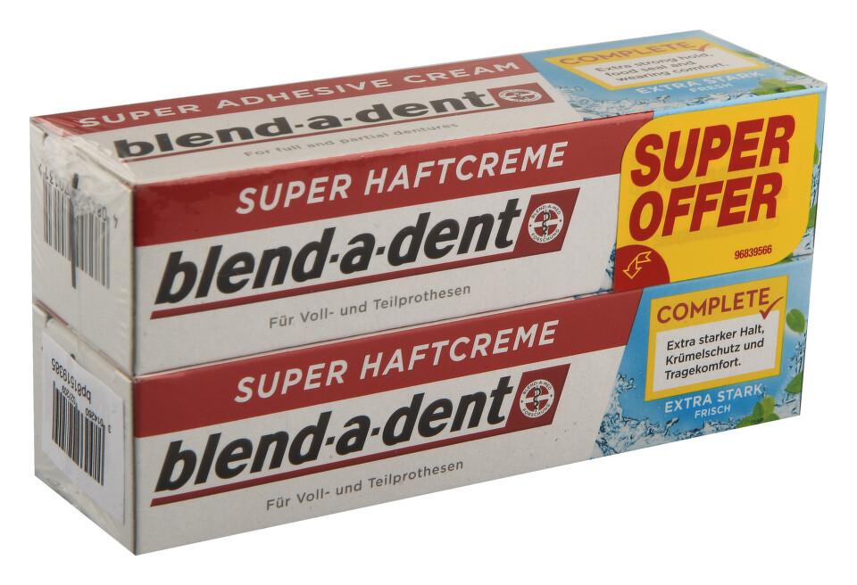 Blend-a-dent upev.krém Fresh Complete 2x47g