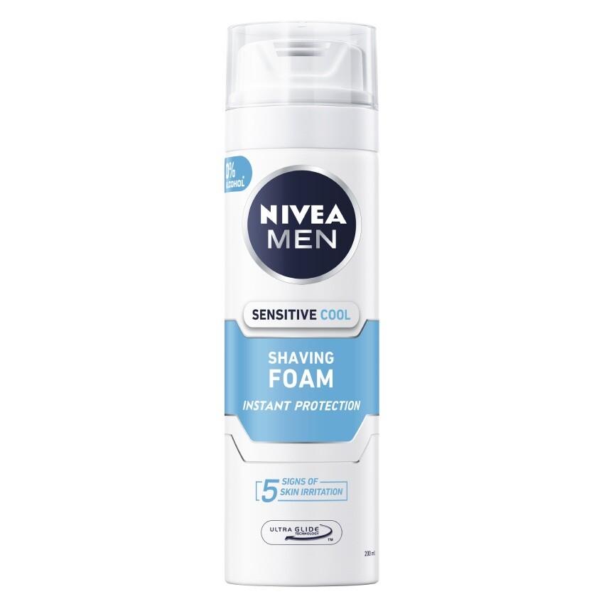 NIVEA MEN Pěna na holení Sens.Cooling 200mlč.88541
