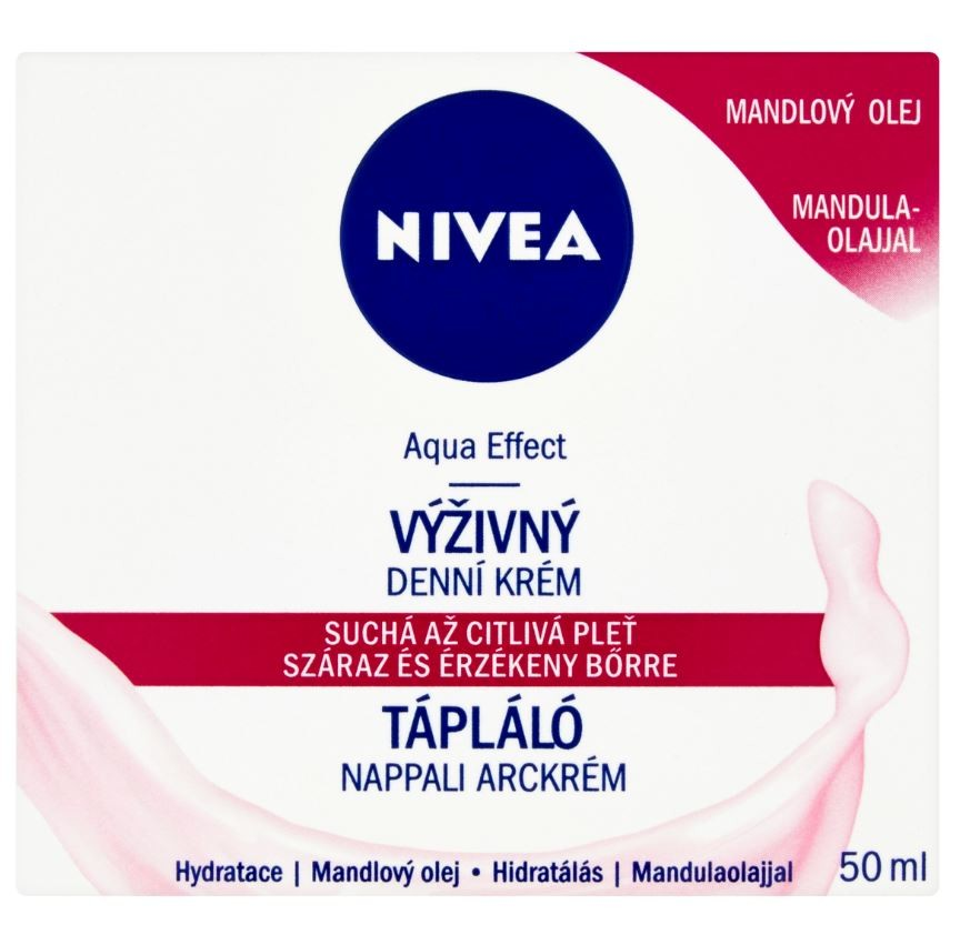 NIVEA Visage Výživný denní krém S/C pleť 50ml81201