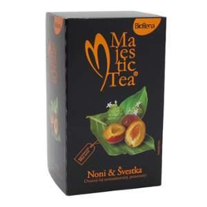 Čaj Majestic Tea Noni+Švestka 20x2.5g Biogena