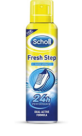 Scholl Fresh step sprej do bot 150ml