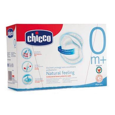 CHICCO Tampony do podprsenky antibakteriální 60ks