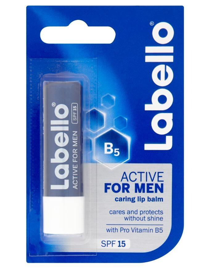 Labello balzám na rty Active For Men 4.8g 85151