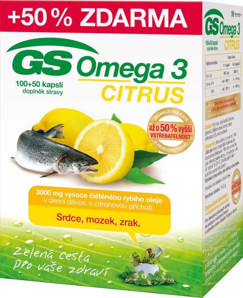 GS Omega 3 Citrus cps.100+50 2015