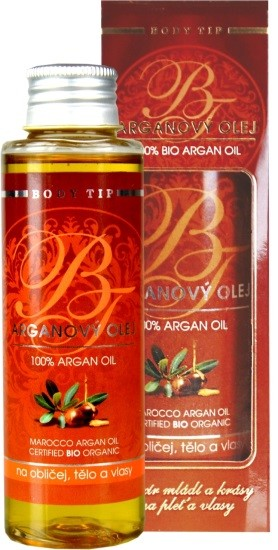 Body Tip 100% BIO Arganový olej 100 ml