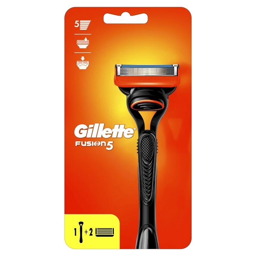 Gillette FUSION holicí strojek s 2 náhr. břity