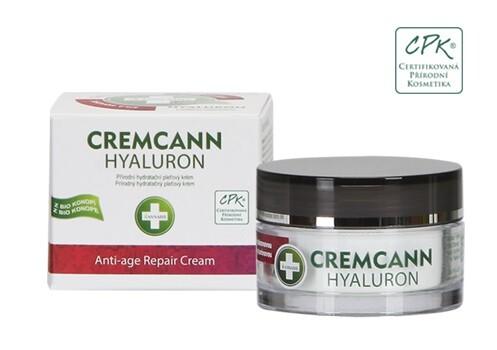 Annabis Cremcann Hyaluron přírodní pleť.krém 15ml