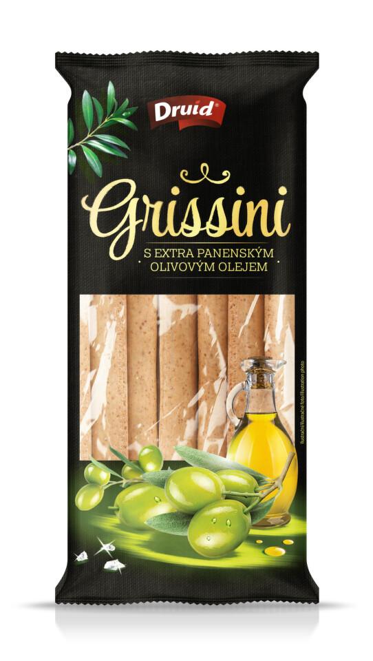 Grissini s olivovým olejem DRUID 90g