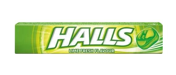 HALLS Fresh Lime 33.5g