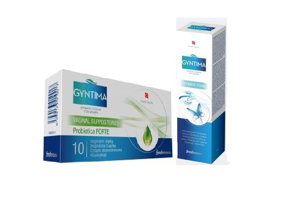 Fytofontana Gyntima čípky Forte + mycí pěna 150 ml