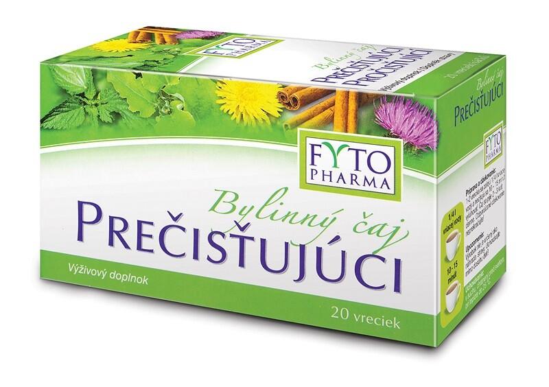 Bylinný čaj pročisťující 20x1.5g n.s. Fytopharma