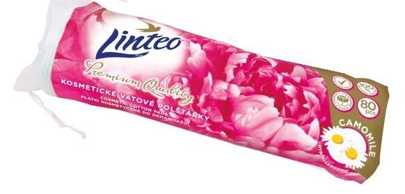 Kosmetic.tampóny odlič. Linteo Premium 80ks heřmán