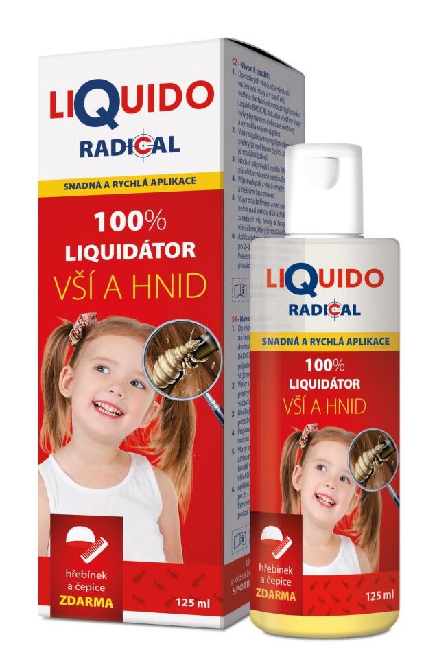 Liquido Radical šampon na vši 125 ml