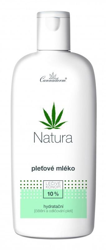 Cannaderm NATURA pleťové mléko hydratační 200ml
