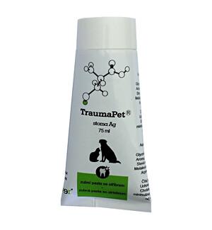TraumaPet zubní pasta s Ag 75ml