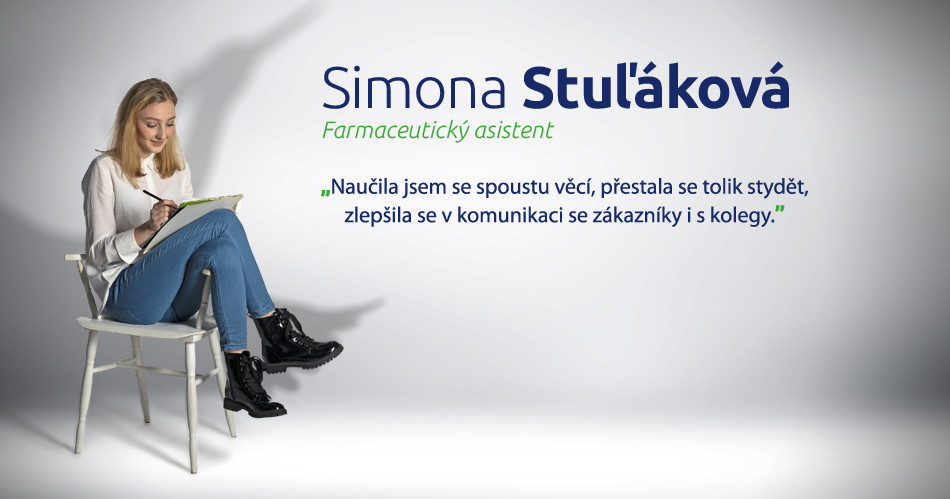 BENU kariéra - Simona Stul'áková - farmaceutický asistent