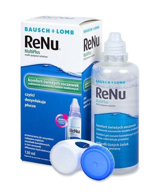 ReNu MultiPlus Multi Purpose Solution 120ml
