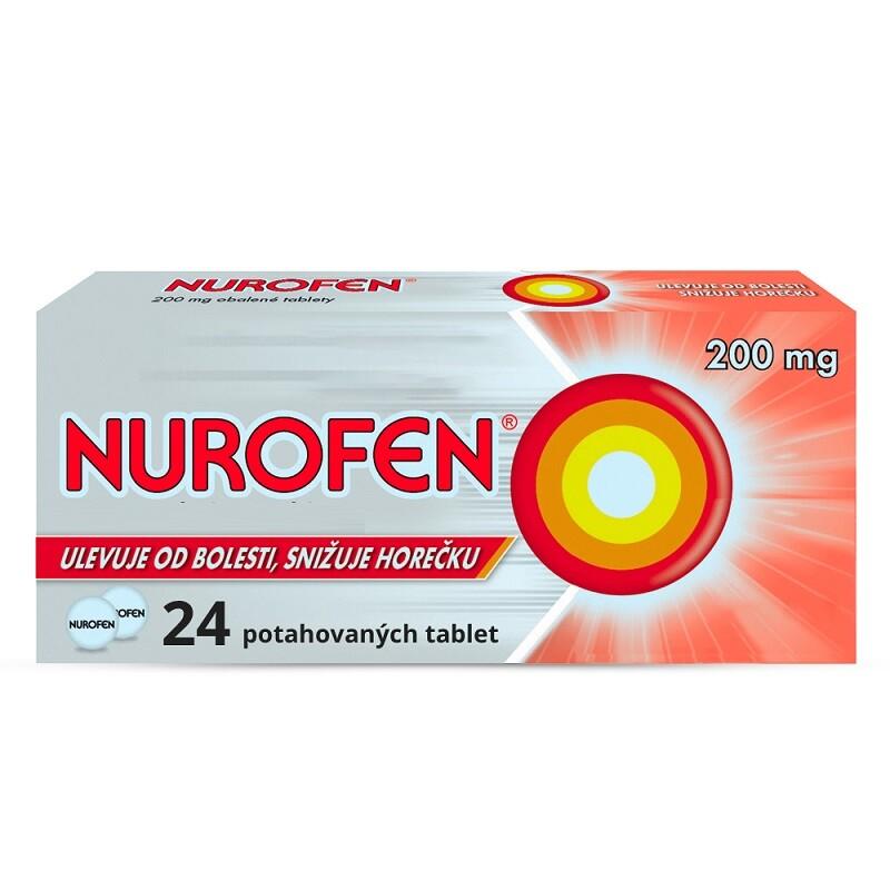 NUROFEN 200MG obalené tablety 24 I