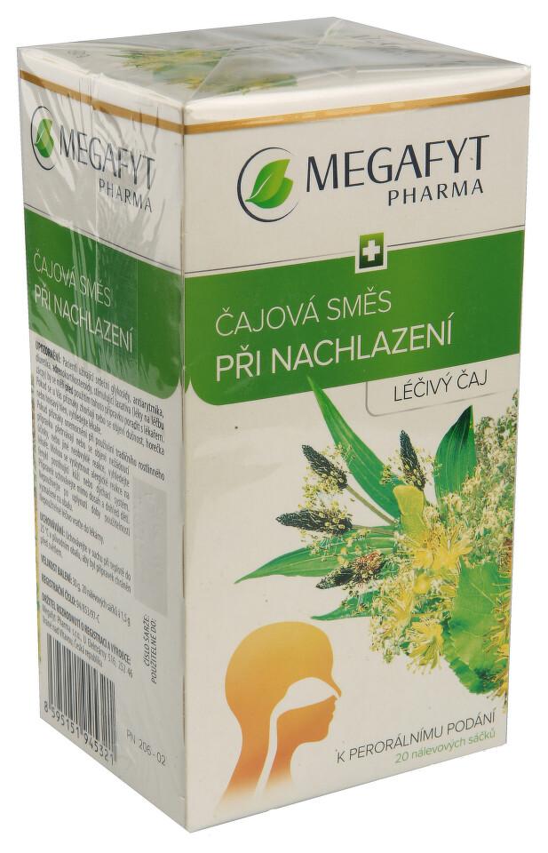 ČAJOVÁ SMĚS PŘI NACHLAZENÍ léčivý čaj 20 I