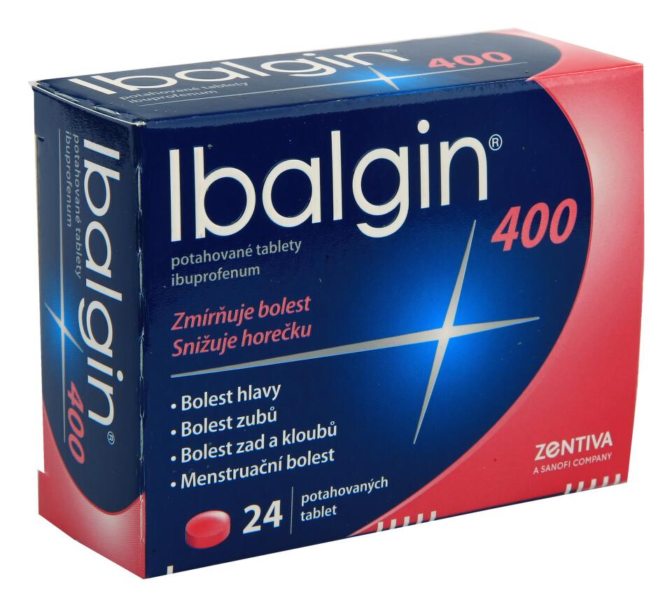 IBALGIN 400 perorální potahované tablety 24X400MG