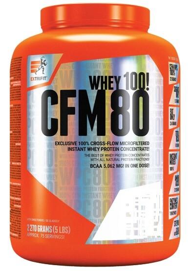 EXTRIFIT CFM Instant Whey 80 2270g Strawberry