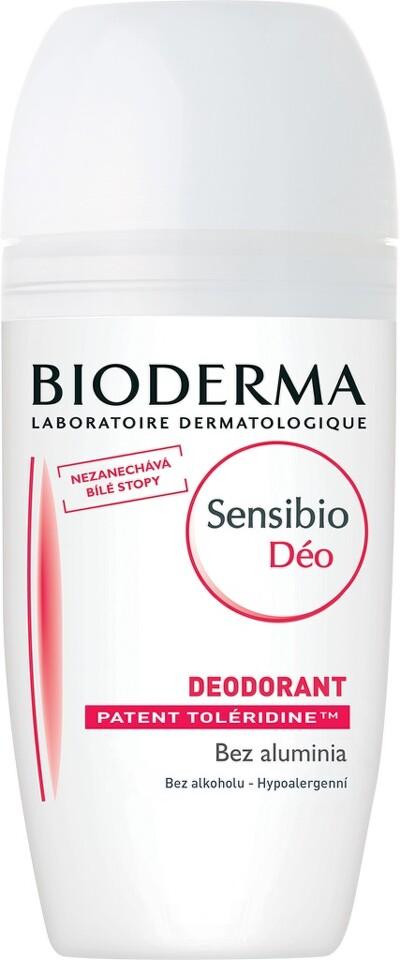 BIODERMA Sensibio Déo deodorant roll-on 50ml DÁREK NAVÍC Bioderma Sensibio H2O 500 ml. při nákupu nad 549 Kč. Platí do 31. 1. 2018 nebo do vyprodání zásob.