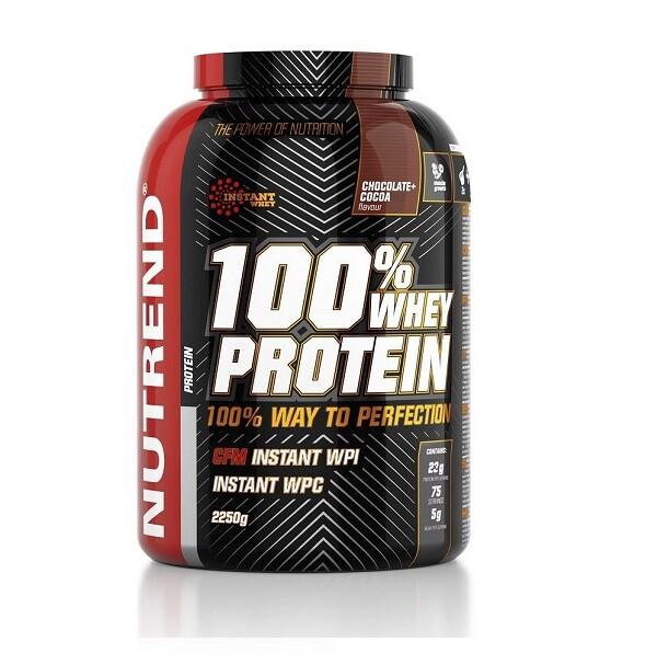 NUTREND 100% Whey Protein 2250 g čokoláda a kakao