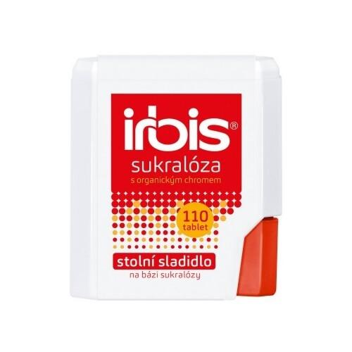 Irbis Sukralóza s chromem dávkovač 110 tbl.