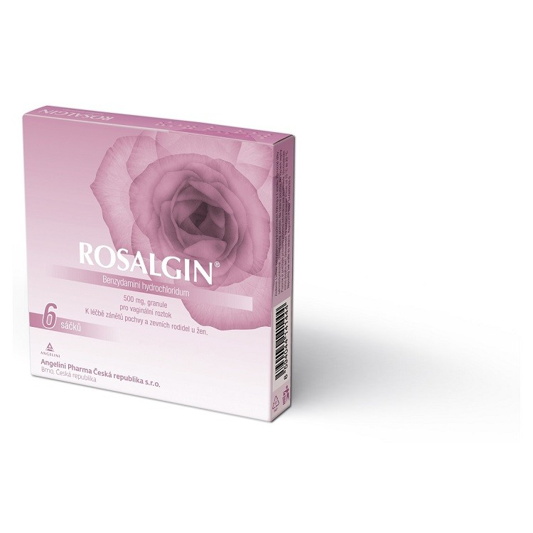 ROSALGIN 500MG vaginální GRA SOL 6