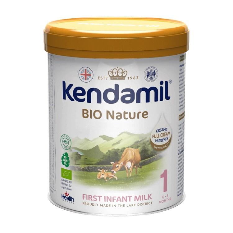 Kendamil Nature počáteční mléko 1 DHA+ BIO Organic 800g