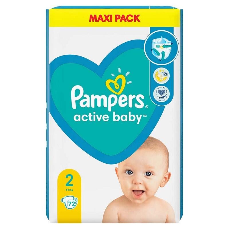 Pampers New Baby 2 Mini 72ks