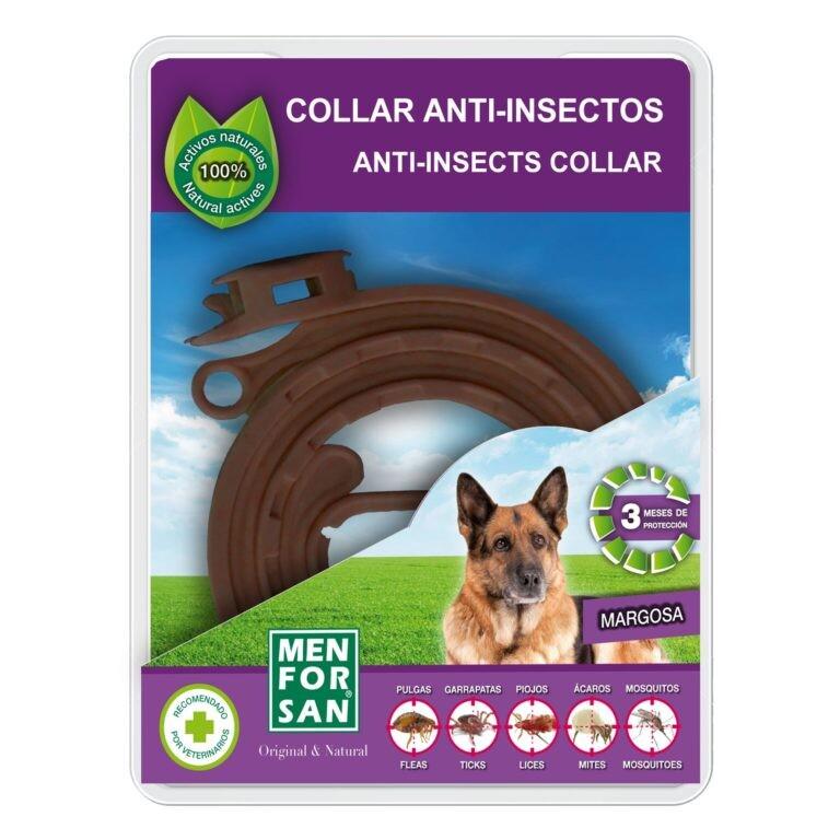 Menforsan Přírodní antiparazitní obojek pro psy odpuzující klíšťata a blechy 57 cm