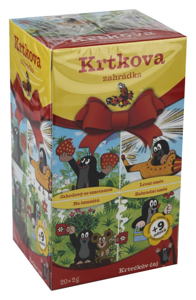 Krtečkův čaj Krtkova zahrádka 20x2g n.s.