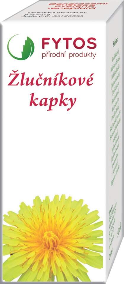 FYTOS Žlučníkové kapky 20 ml