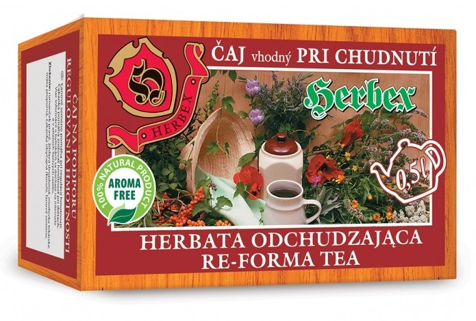 HERBEX Čaj na hubnutí n.s.20x3g