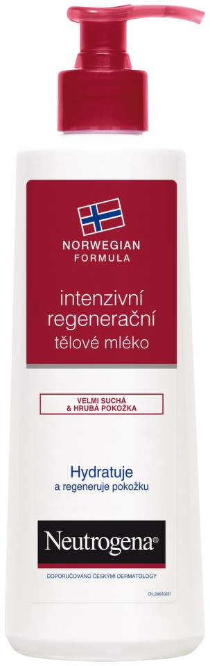 NEUTROGENA® Norská receptura Intenzivní regenerační tělové mléko 250 ml