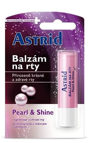 Astrid balzám na rty tónovací Pearl a Shine 4.2g