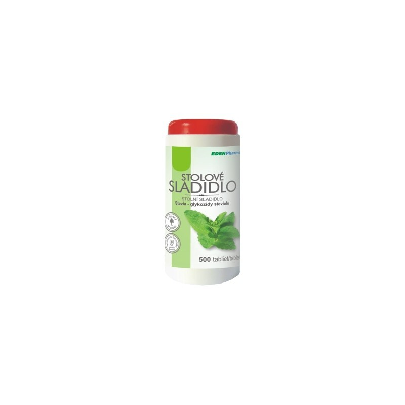 Edenpharma Stolní sladidlo - Stevie 500 tablet