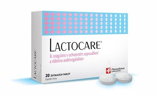 LACTOCARE PharmaSuisse tbl. 20