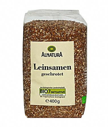 Alnatura Drcená lněná semínka 400g