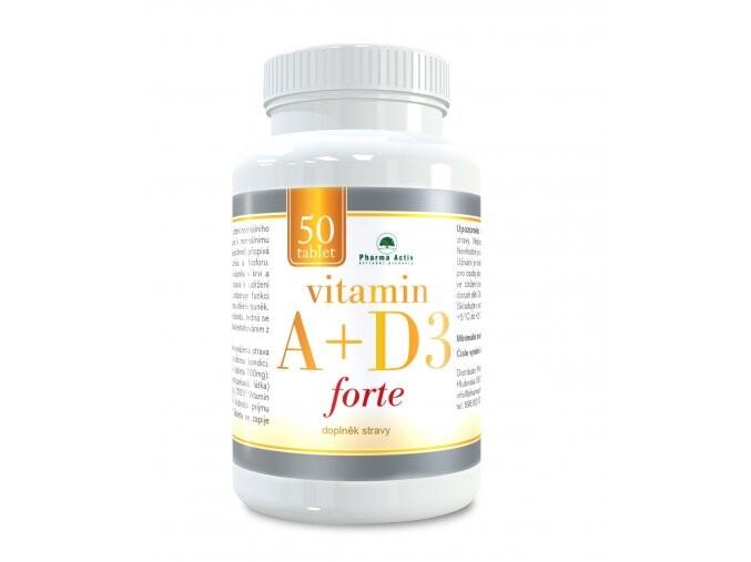 Vitamin A+D3 forte tbl.50