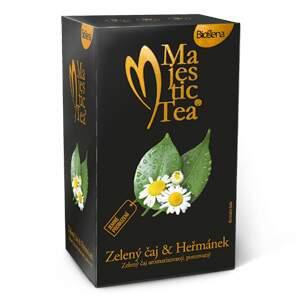 Čaj Majestic Tea Zelený čaj & Heřmánek 20x1.5g