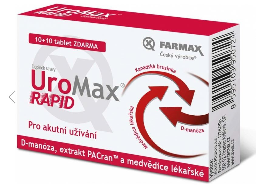 UroMax Rapid 10+10 tbl. zdarma