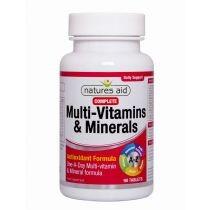 Natures Aid Ltd. Multivitamíny a minerály Complete tbl.90