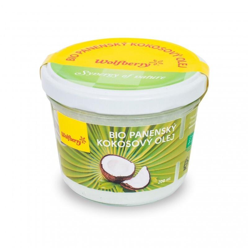 Wolfberry Bio panenský kokosový olej 200ml