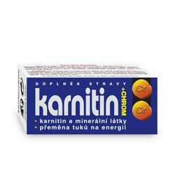 Karnitin+chrom tbl.50 - II. jakost