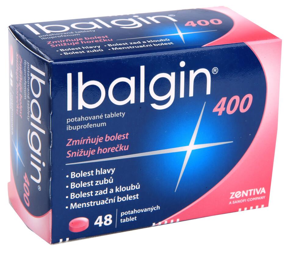 IBALGIN 400 perorální potahované tablety 48X400MG