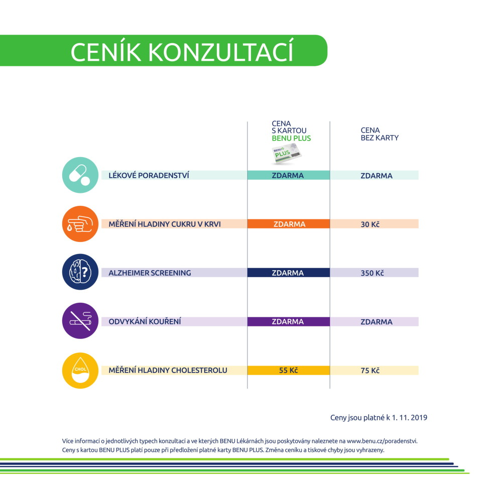 Odborné konzultace výhodněji - ceník
