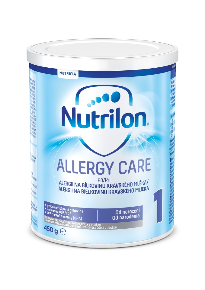 NUTRILON 1 ALLERGY CARE perorální SOL 1X450G