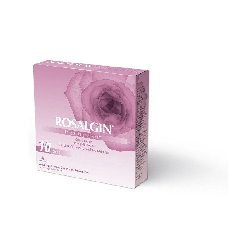 ROSALGIN 500MG vaginální GRA SOL 10